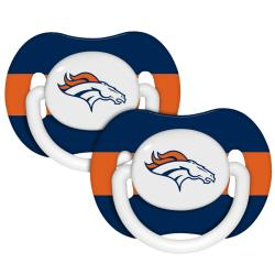 Denver Broncos Pacifiers (Pack of 2)