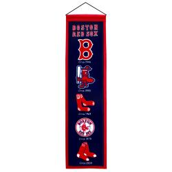 Boston Red Sox Wool Heritage Banner