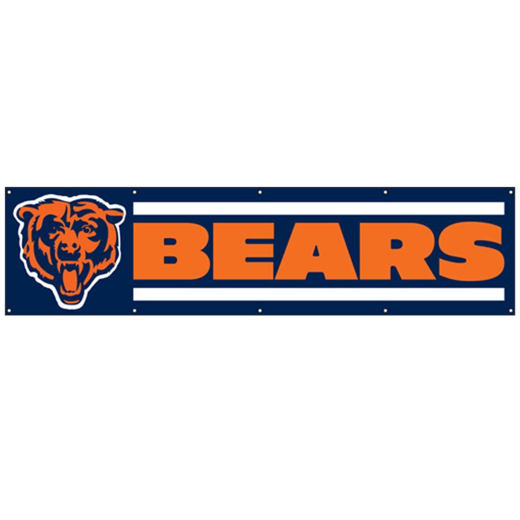 Chicago Bears 8-foot Nylon Banner