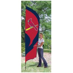 St. Louis Cardinals Tall Nylon Team Flag