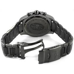 Invicta Men's 'Invicta II' Gunmetal Stainless Steel Chronograph Watch