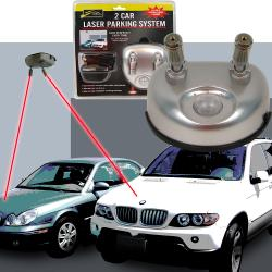 As Seen on TV 2-car Garage Laser Parking System