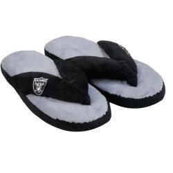 Oakland Raiders Women's Flip Flop Thong Slippers