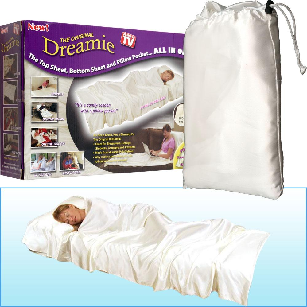 As Seen on TV The Original Dreamie Sheet with Pillowcase
