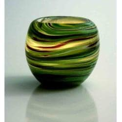 Galaxy Green Votive (Set of 4)
