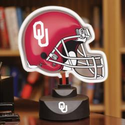 Oklahoma Sooners Neon Helmet Lamp