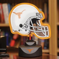 Texas Longhorns Neon Helmet Lamp