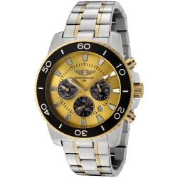 I by Invicta Men's Two-tone Chronograph Watch