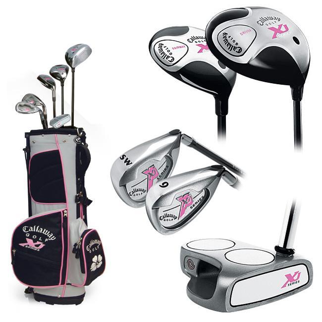 Callaway XJ Girl's Jr Golf Club Set