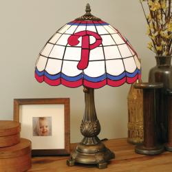 Tiffany-style Philadelphia Phillies Lamp