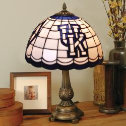 Tiffany-style Kentucky Wildcats Lamp