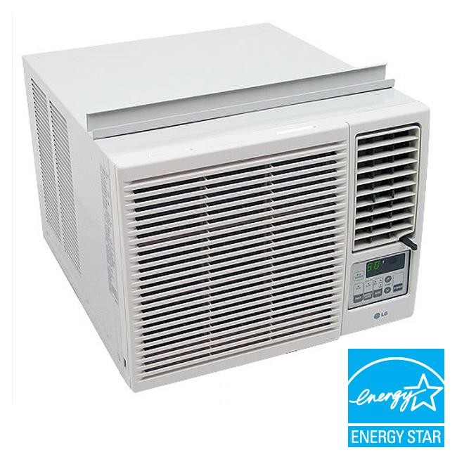 LG 7,000-BTU Heat and Cool Window Air Conditioner (Refurbished)