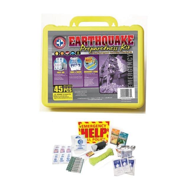 Total Resources International Earthquake Preparedness 45-pc Kit
