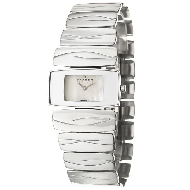Skagen Women's 'Swiss' Stainless Steel Quartz Watch