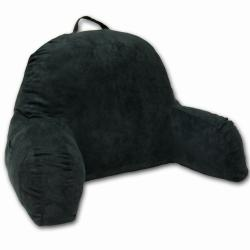 Dark Green Microsuede Bed Rest
