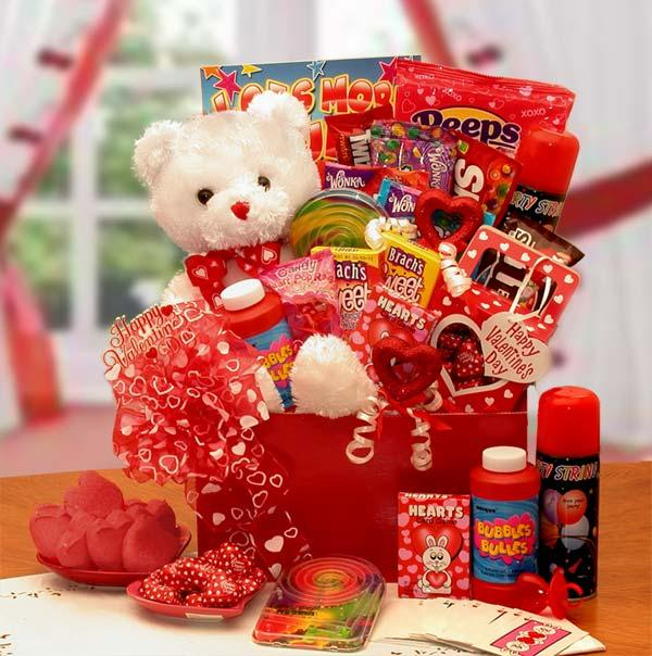 The Bear of Hearts Kids Valentine Activity Gift Box