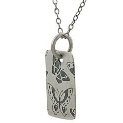 Tressa Sterling Silver Butterfly Necklace