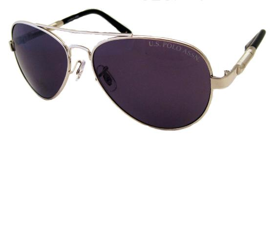 US Polo Men's 'Greenwich' Aviators Sunglasses