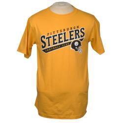 Reebok Pittsburgh Steelers Yellow Team T-shirt