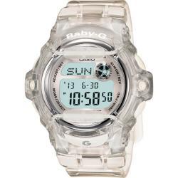 Casio Women's 'Baby-G' Translucent White Watch