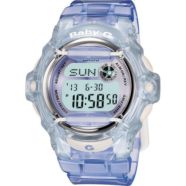 Casio Women's 'Baby-G' Translucent Blue Watch