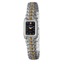 Bulova Women&#39;s &#39;Bracelet&#39; Two-tone Steel Diamond Quartz Watch
