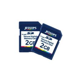 Jessops 2GB SD Memory Card for Digital Devices (Pack of Two)