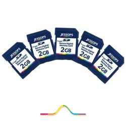 Jessops 2GB SD Memory Cards (Pack of 5)