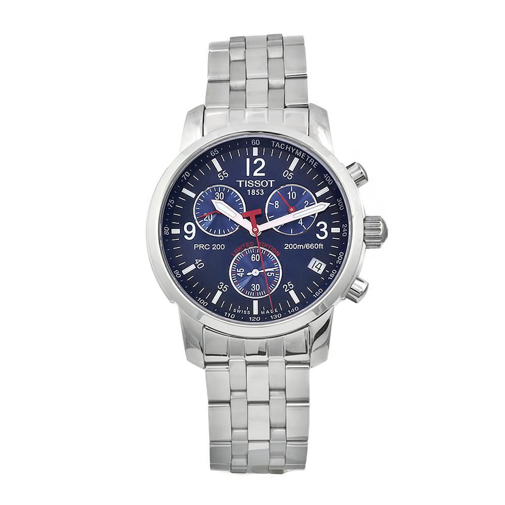 Tissot Men's Blue 'PRC200' Chronograph Watch