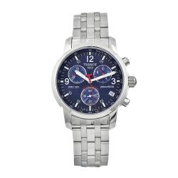 Tissot Men's Blue 'PRC200' Chronograph Watch