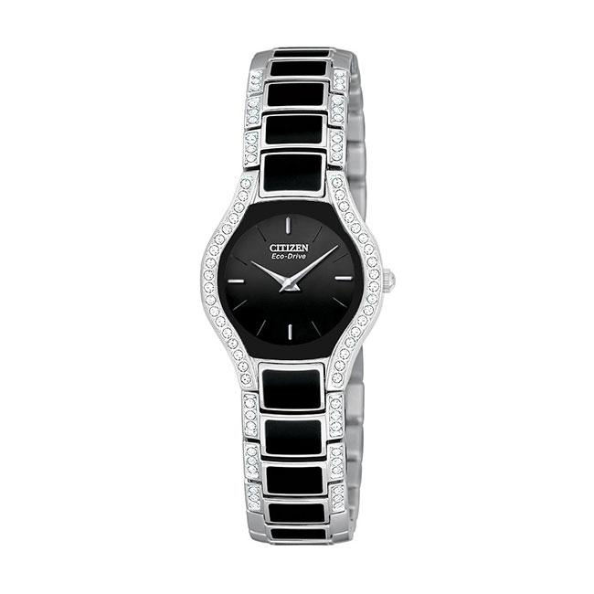 Citizen Women's 'Normandie' Crystals Eco-drive Watch