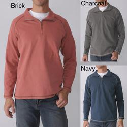 Island Joe Men's Zip Neck Long Sleeve Sweater