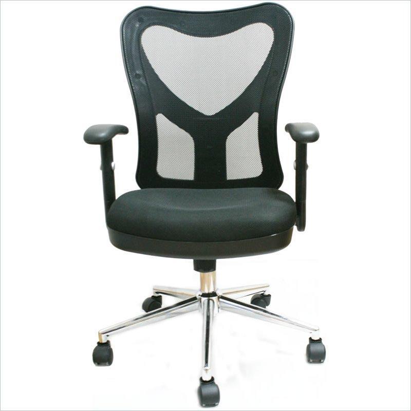 Techni Mobili Mesh Fully-Adjustable Office Chair
