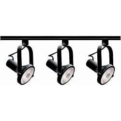 Nuvo Lighting 3-light Black Track Light Kit