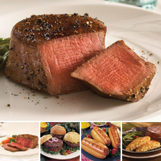 Omaha Steaks Family Favorites Feast