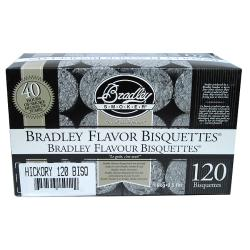 Bradley Smoker Hickory Bisquettes (Case of 120)