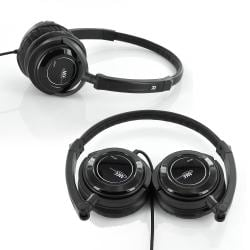 MEElectronics HT-21 Portable Travel Headphone with Adjustable Headband