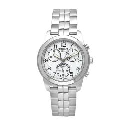Tissot Men's PR 50 Stainless Steel Ivory Dial Chronograph Watch