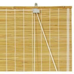 Matchstick Natural Roll-up Window Blinds (72 in. x 72 in.) (China)
