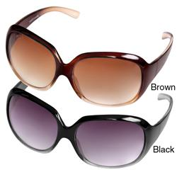 Journee Collection Women's '77294-001' Gradient Oversized Sunglasses