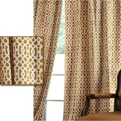 Nairobi Desert Printed Cotton 108-inch Curtain Panel
