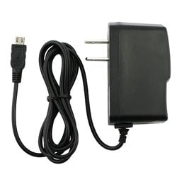 Black Micro USB Travel Charger for Motorola Droid X MB810
