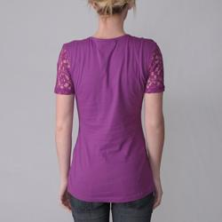 Ci Sono by Journee Junior's Laced Top