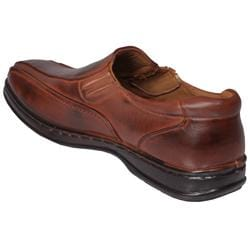 Boston Traveler Men's Square-toe Slip-on Loafers