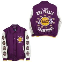 Los Angeles Lakers NBA Champions Commemorative Varsity Jacket