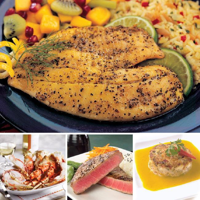 Ocean's Best Collection from World Port Seafood
