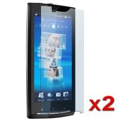 Screen Protector for Sony Ericsson Xperia X10/ Rachael (Pack of 2)