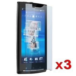 Screen Protector for Sony Ericsson Xperia X10/ Rachael (Pack of 3)