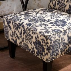 Spenser Navy Armless Chair