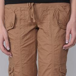 Ci Sono by Journee Junior's Cuffed Cargo Shorts
